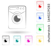 washing machine logo multi...