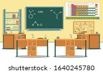 laboratory with all necessary... | Shutterstock .eps vector #1640245780
