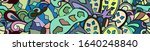 tracery seamless pattern....   Shutterstock .eps vector #1640248840