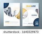 annual report brochure flyer... | Shutterstock .eps vector #1640329873