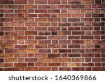 Red Grunge Brick Wall  Abstract ...