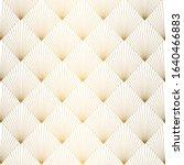 art deco pattern. seamless... | Shutterstock .eps vector #1640466883