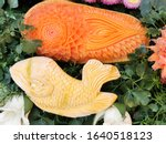 Fruits And Vegetable Carving....