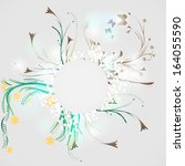 swirl background  | Shutterstock .eps vector #164055590