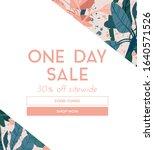 delicate pale vector summer...   Shutterstock .eps vector #1640571526