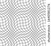 vector grid seamless wave... | Shutterstock .eps vector #1640581276