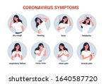 2019 ncov covid 19 symptoms.... | Shutterstock .eps vector #1640587720