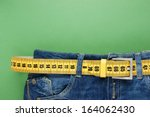 Jeans With Meter Belt Slimming...