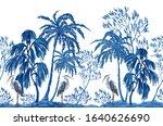 beautiful botanical vector...   Shutterstock .eps vector #1640626690