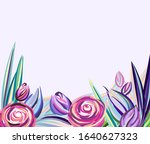 Flowers And Leaves....