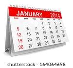 2014 Calendar. Week Starts Wit...