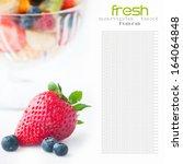 fruit diet | Shutterstock . vector #164064848
