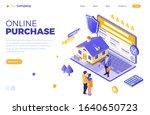 online sale  purchase  rent ...   Shutterstock .eps vector #1640650723