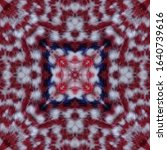 Aztec Rug Pattern. White...