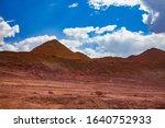 aluminium ore quarry. bauxite... | Shutterstock . vector #1640752933