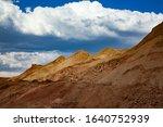 aluminium ore quarry. bauxite... | Shutterstock . vector #1640752939