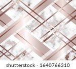 marble background rose gold.... | Shutterstock .eps vector #1640766310