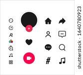 social media templates modern... | Shutterstock .eps vector #1640780923