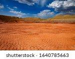 aluminium ore quarry. bauxite... | Shutterstock . vector #1640785663