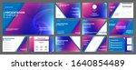 business presentation templates ... | Shutterstock .eps vector #1640854489