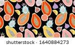 abstract seamless pattern.... | Shutterstock .eps vector #1640884273