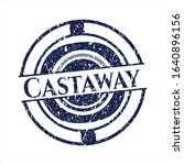 Blue Castaway Rubber Seal With...
