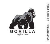 the gorilla logo symbolizes... | Shutterstock .eps vector #1640911483
