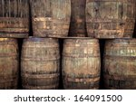 Stacked Pile Of Old Whisky...