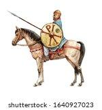 Ancient Byzantine Rider....