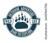 vintage logo style print design ...   Shutterstock .eps vector #1640964706