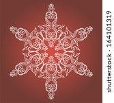 vintage christmas background... | Shutterstock .eps vector #164101319