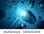 plastic human waste including...   Shutterstock . vector #1641013246