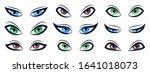 cartoon eye sign. eyed sight... | Shutterstock .eps vector #1641018073