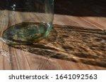 Glass Jar And Its Reflection O...