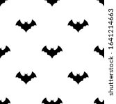 seamless pattern with black... | Shutterstock . vector #1641214663