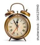 Alarm Clock  Isolated On White...