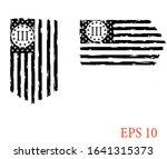 usa flag   three percenters... | Shutterstock .eps vector #1641315373