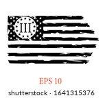 usa flag   three percenters...   Shutterstock .eps vector #1641315376