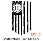 usa flag   three percenters... | Shutterstock .eps vector #1641315379