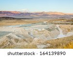 landscape of turkish mountains... | Shutterstock . vector #164139890