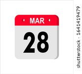 march 28    calendar icon....