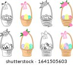 Set Of Holiday Baskets With...