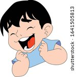 boy's face expressing feelings  ...   Shutterstock .eps vector #1641505813