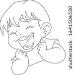 boy's face expressing feelings  ...   Shutterstock .eps vector #1641506530