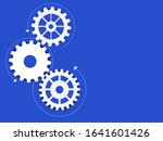 abstract techno gear background ...   Shutterstock .eps vector #1641601426
