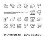 simple set of business...   Shutterstock .eps vector #1641631510