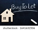 Small Home And Sign Buy To Let...