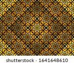 arabic geometric ornament.... | Shutterstock . vector #1641648610