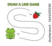 cartoon frog game for small... | Shutterstock . vector #1641650230