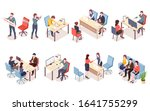 recruitment agency workers in... | Shutterstock .eps vector #1641755299